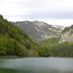 Vue du lac depuis l'hôtel