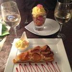 flowery desserts