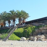 restaurant - view from beach