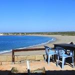 beach - view from restaurant