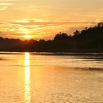 Sunset in Amazonas