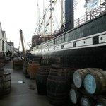Authentic victorian dockyard