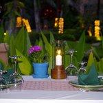Romantic Dinner setting at Sala Thai