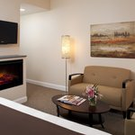 All rooms come complete with DirecTV, fireplaces and comfortable seating.