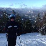 Beautiful ski day in the White Mountains