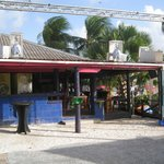 Side of the bar and grill