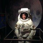 Backing de foto en la luna
