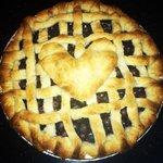 Homemade blueberry pie! LOVE