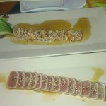 salmon and tuna starters