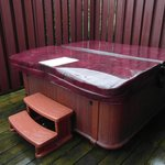 Hot Tub in Lodge 11