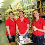Bearly Used book Store - Sarah Thomson, Melissa Thomson & Kelsey Ward, photo by Mike Keenan