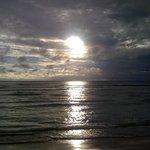 puesta de sol en Fiji