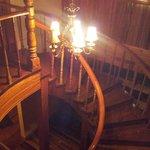 L'escalier tout en bois massif