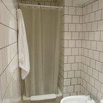 Cortinas de baño (con una hoja menos)