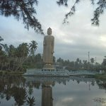 on van tour of the southern coast -Memorial Buddha Statue