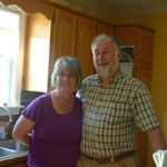 Wayne & Ruth, our wonderful hosts
