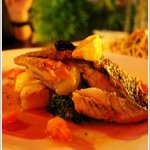 Oven Baked Sea Bass Fillet
