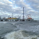 The Pleasure Pier from a nearby jetty