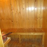SAUNA BATH AREA