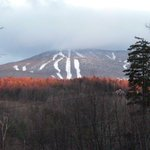 Just seven minutes from Okemo we have a great skiing view from our front yard!