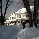 Crackling fires keep our guests warm after a long day of playing in the snow