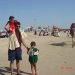 The Beach At Mandvi Palace
