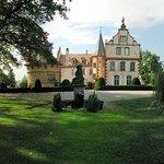 Vue principale du chateau d'Osthoffen