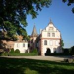 Vue du chateau d'Osthoffen depuis la terrasse