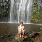 Waterfalls swim...brrrr