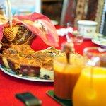 Confitures maison, crêpes Tradition oblige