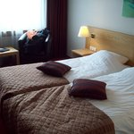 Main room with amazing beds