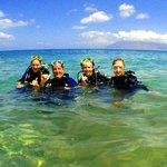 Come out for a dive in our warm, clear waters! Three pristine reefs ...right from shore!