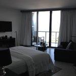 king bed spetacular studio
