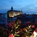 Utsikt från hotelltaket på Palma-Suites
