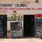 Bilde fra El Colonial