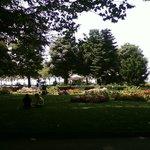 Bord du Lac Ouchy, parc