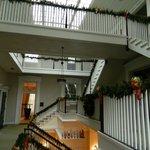Above main lobby