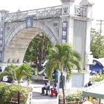 Replica del Arco del Triunfo en Barbados