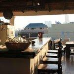 rooftop terrace / breakfast area