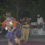 Different evening entertainment every night...African night