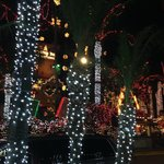 The Christmas Lights at the Mission Inn