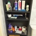 comodissimo per i prodotti bagno