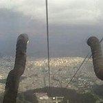 Quito desde el teleferico