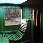 Sauna con solarium