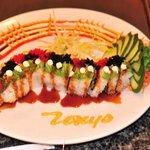 Nice decorated sushi