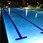Pool at night - Yes, I like pools