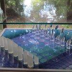 Glazen schaakspel