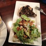 Rhoda's salad with Mushroom Tort