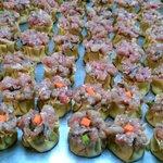 Pork, Shrimp + Crab Dumplings