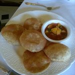 Poori Breakfast. One has to ask for it. No one to properly assist.